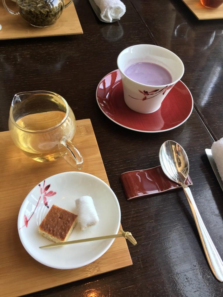 マンダリンオリエンタル東京 センスティーコーナーで味わう高級中国茶。アフタヌーンティーとは一味違った優雅な時間!